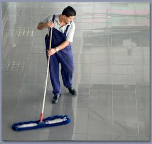 Moppning av golv